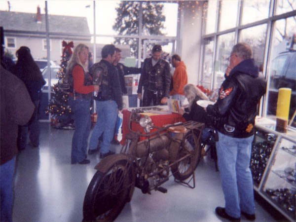 Gathering at C&C Cycles 01