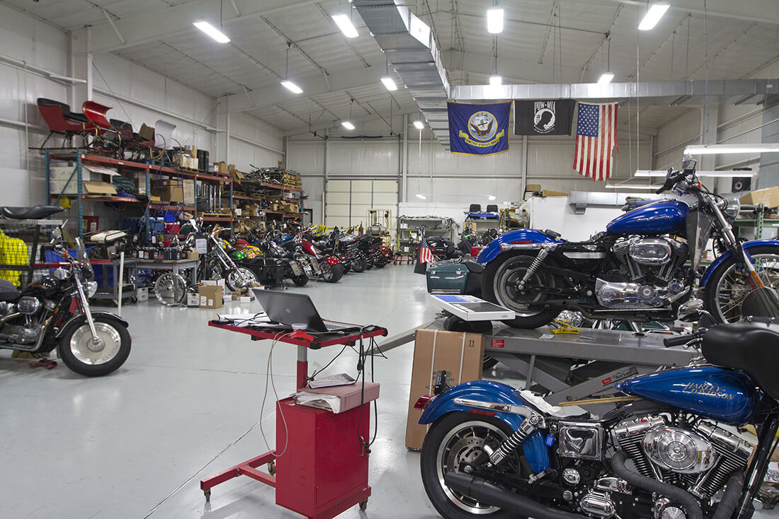 C&C Cycle motorcycle shop