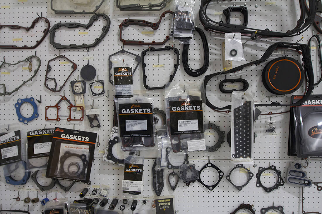 C&C Cycle motorcycle parts shop